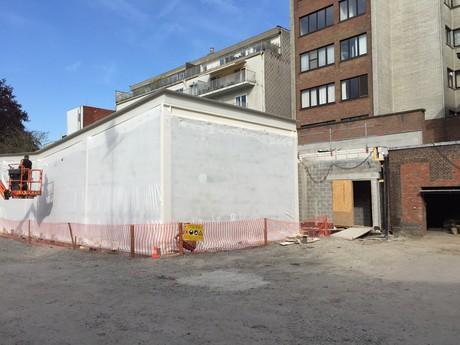 Inpakken gebouw